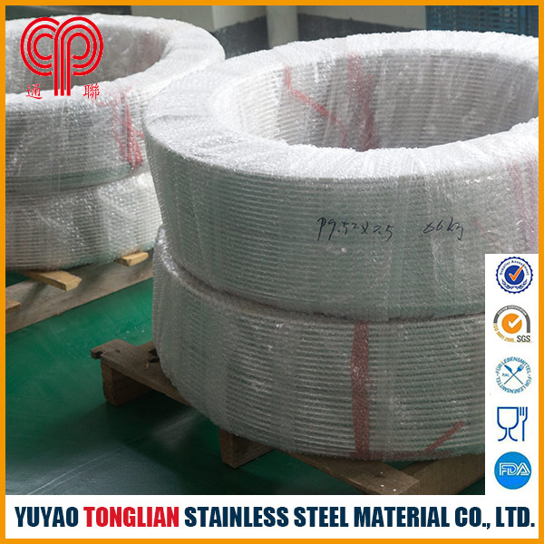 Stainless steel coil pipe