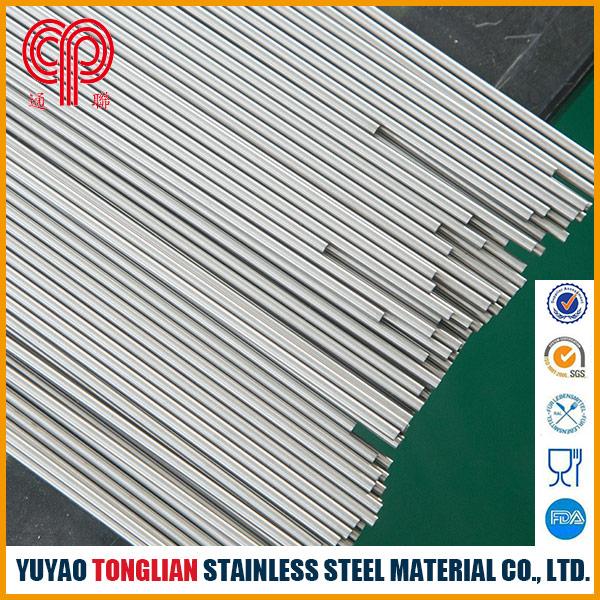 Stainless steel capillary