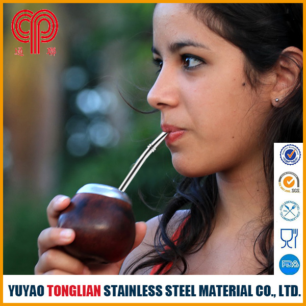 stainless steel tea straw